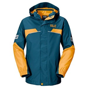 Jack Wolfskin Jungen 3-in-1 Jacke Boys Topaz Winter Jacket