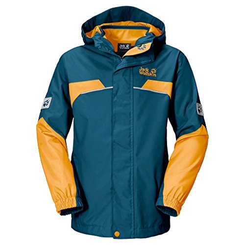 Jack Wolfskin Jungen 3-in-1 Jacke Boys Topaz Winter Jacket